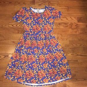 LulaRoe Floral Dress with Pockets